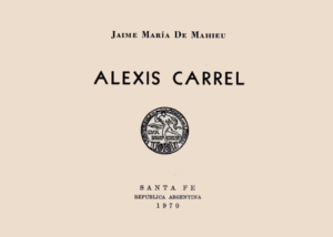 Libro eBook Alexis Carrel