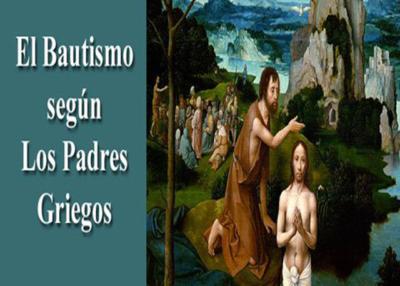 Libro eBook El Bautismo según los Padres Griegos