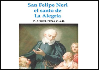 Libro eBook San Felipe Neri El Santo de la Alegría