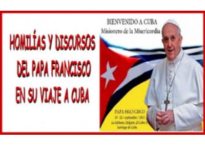 Libro eBook Homilías y Discursos del papa Francisco en Cuba