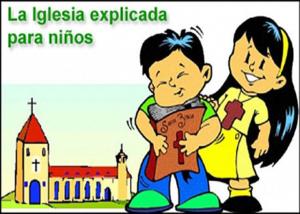 Libro eBook PDF La Iglesia explicada para niños