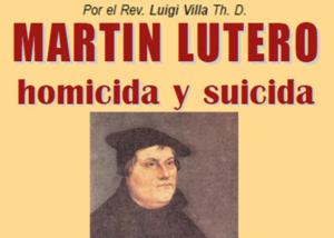 Libro eBook Martín Lutero homicida y suicida