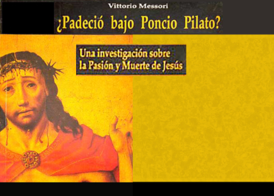 Libro eBook ¿Padeció bajo Poncio Pilato?