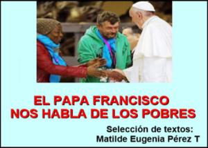 Libro eBook El Papa Francisco nos habla de Los Pobres