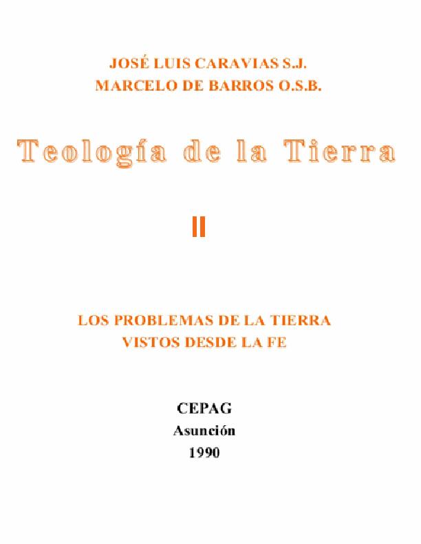 Teología II
