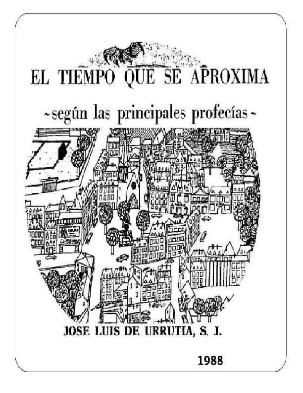 El tiempo que se aproxima - Jose Luis de Urrutia S. J_.pdf