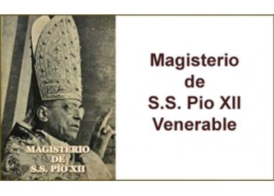Libro eBook Magisterio de S.S. Pío XII