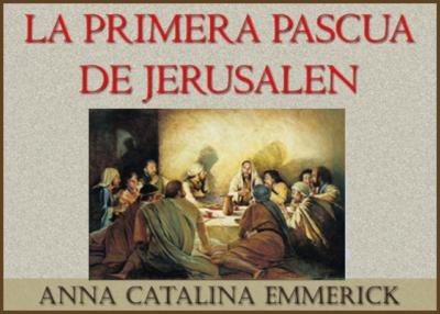 Libro eBook La primera pascua de Jerusalén