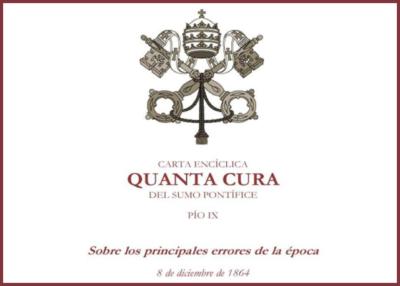 Libro eBook Quanta Cura, Carta Encíclica