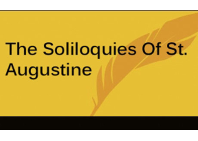 Book eBook The Soliloquies Of St. Augustine