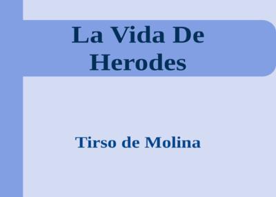Libro eBook La Vida De Herodes