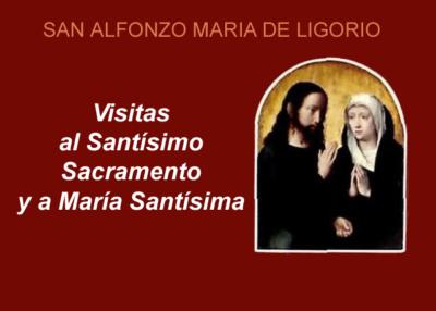 Libro eBook Visitas al Santísimo Sacramento y a María Santísima